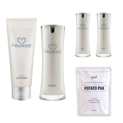 Fleuresse Skin Care System with Potato Pak
