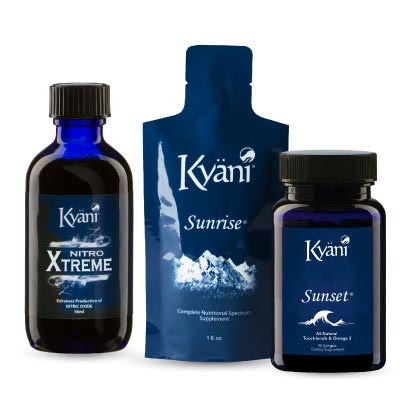 Kyani Triangle of Health with Nitro Xtreme