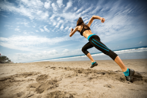 Running can help with your abs