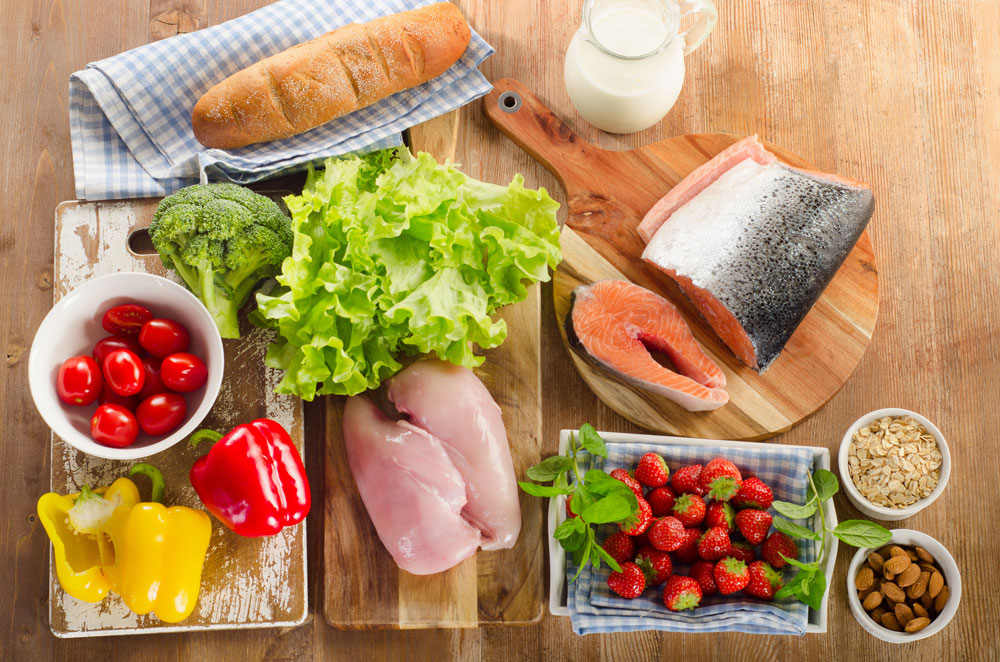 Healthy food reset your health
