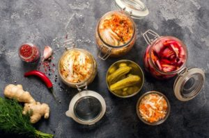 Fermented and fibre-rich food promotes gut-wellness.