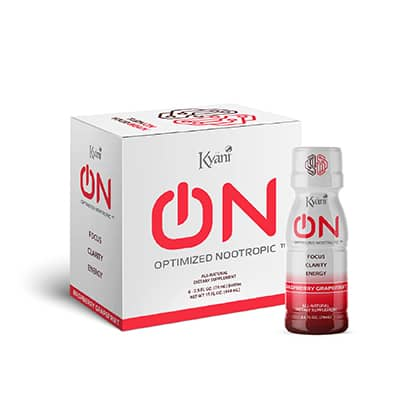 Kyani NooTropics - Raspberry Grapefruit 6 Pack